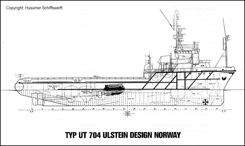 Typ UT 704 Ulstein Design Norway