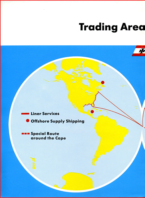 Trading Area of our Fleet