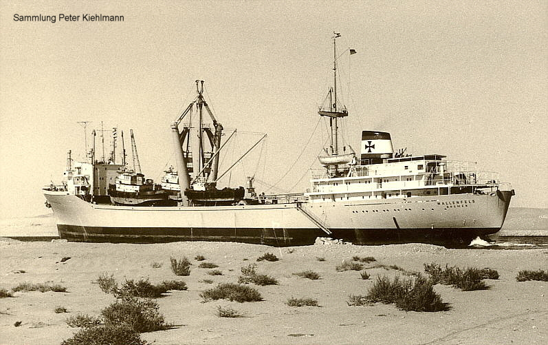WALLENFELS in Suez Kanal.
